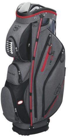 Wilson Nexus II cart bag, šedo/červený