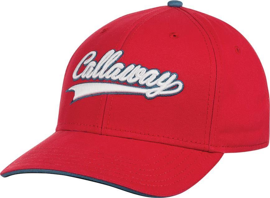 Callaway Throwback golfová kšiltovka, červená