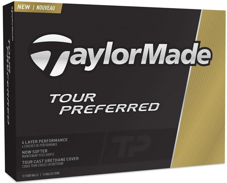 TaylorMade Tour Preferred golfové míčky