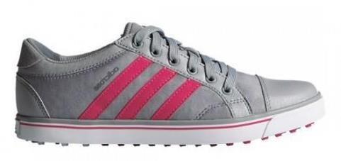 Adidas adicross IV dámské golfové boty, šedo/růžové standardní, šedá, 4,5