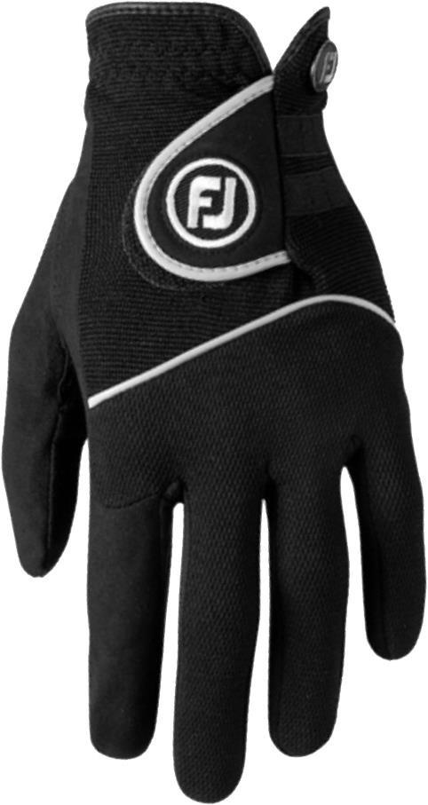 FootJoy RainGrip pánská rukavice pravá (pro leváky), M, černá