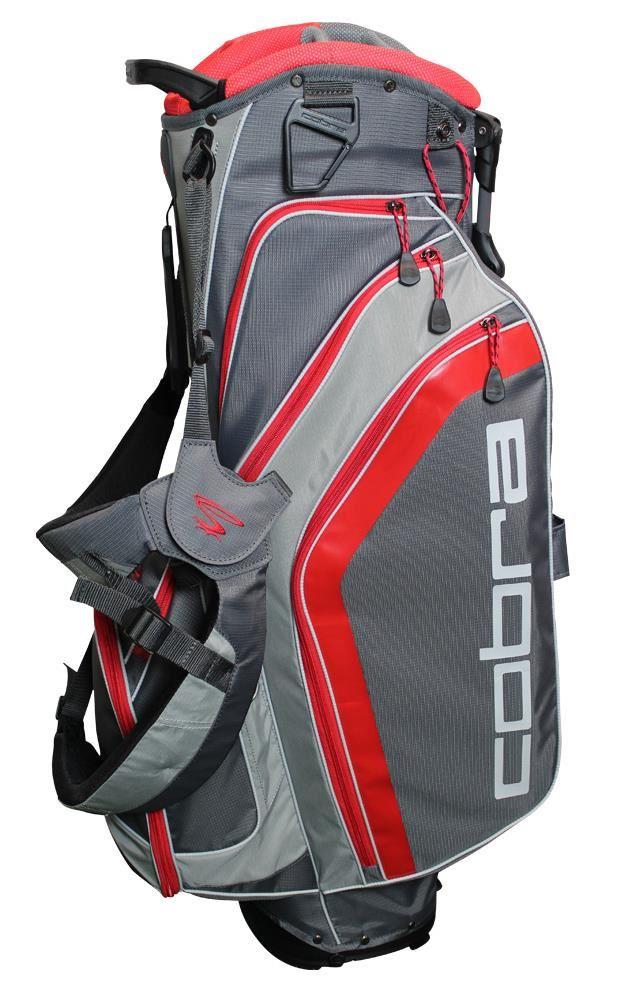 Cobra Fly-Z stand bag, šedo/červený