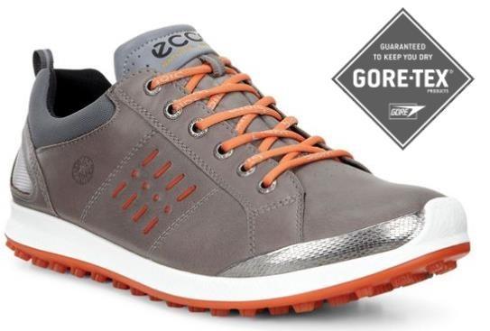 Ecco Golf Biom Hybrid 2 Gore-Tex pánské golfové boty, šedé standardní, šedá, 10