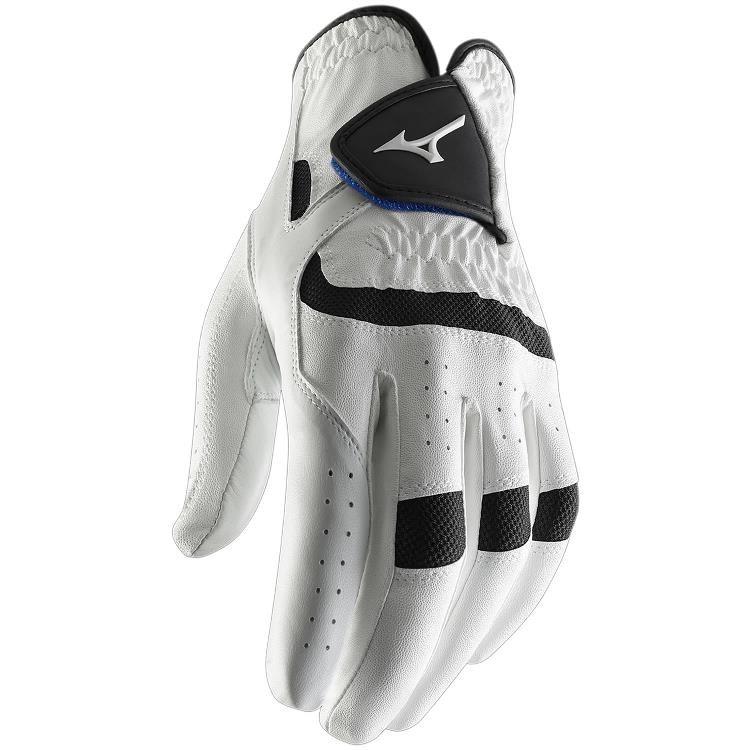 Mizuno Elite pánská rukavice bílá, pravá (pro leváky), L