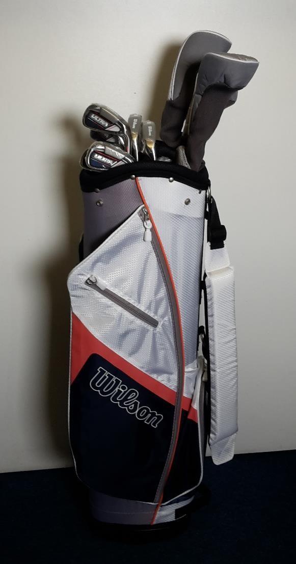 Wilson Ultra dámský golfový set, grafit, pravý