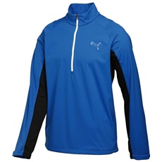 Puma Golf 1/2 Zip Long Sleeve Storm pánská bunda, modrá