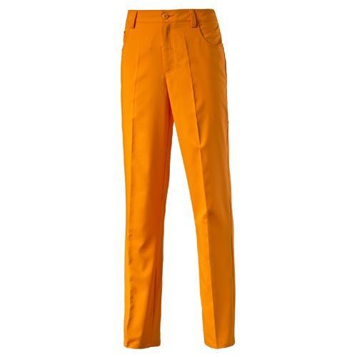 Puma 5 Pocket Junior dětské kalhoty, oranžové standardní, dětské, 116