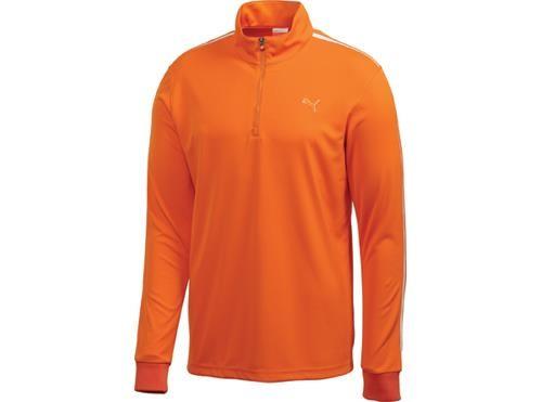 Puma Golf Zip pánská mikina, oranžová pánské, M