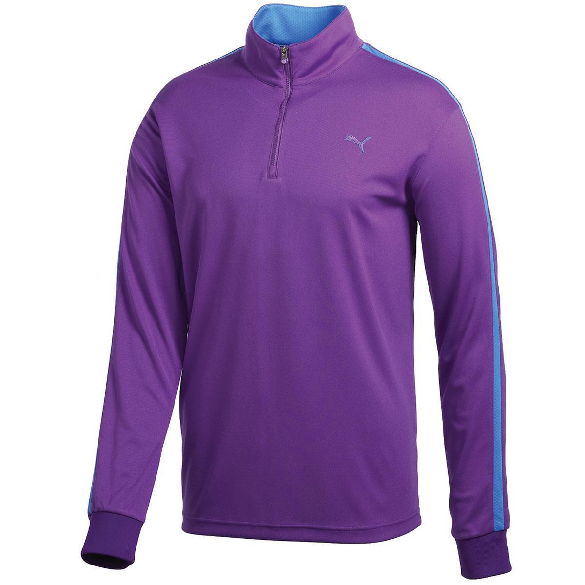 Puma Golf Zip pánská mikina, fialová pánské, M