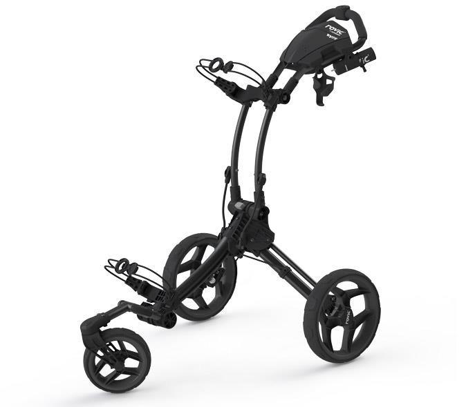 Clicgear Rovic RV1S Swivel golf trolley, charcoal/black