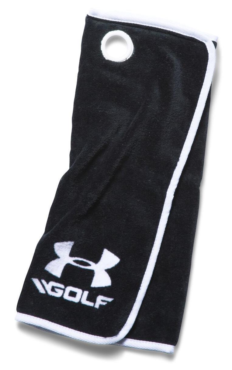 Under Armour golfový ručník, černý