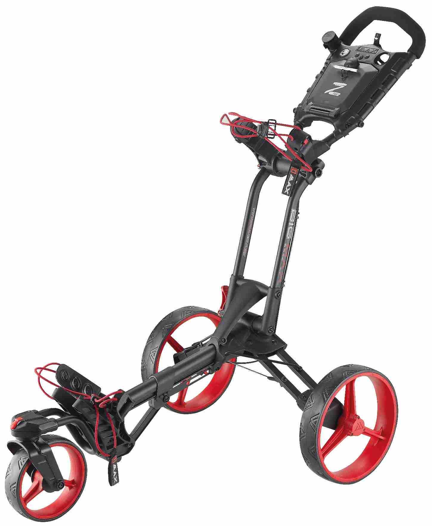 Big Max Z 360 golfový vozík, černo/červený