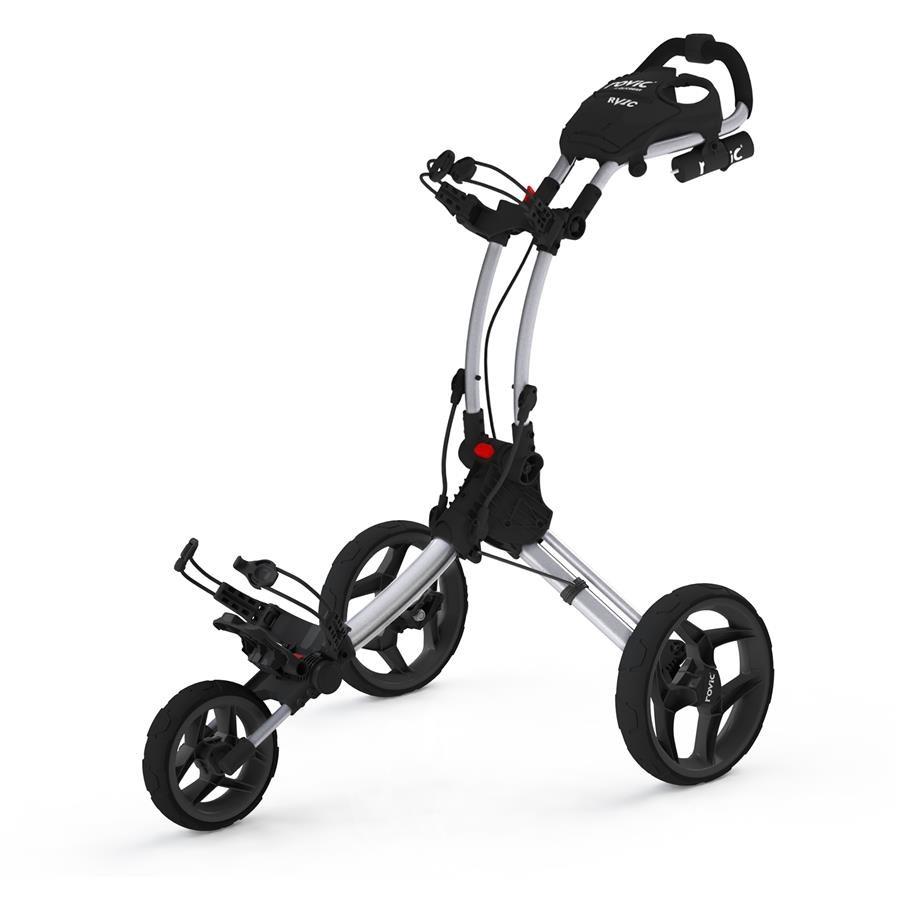 Clicgear Rovic RV1C golfový vozík, šedý