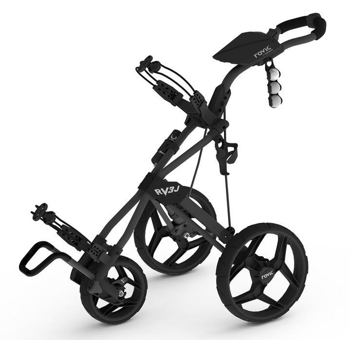 Rovic RV3J dětský vozík, 3-kolový, černý