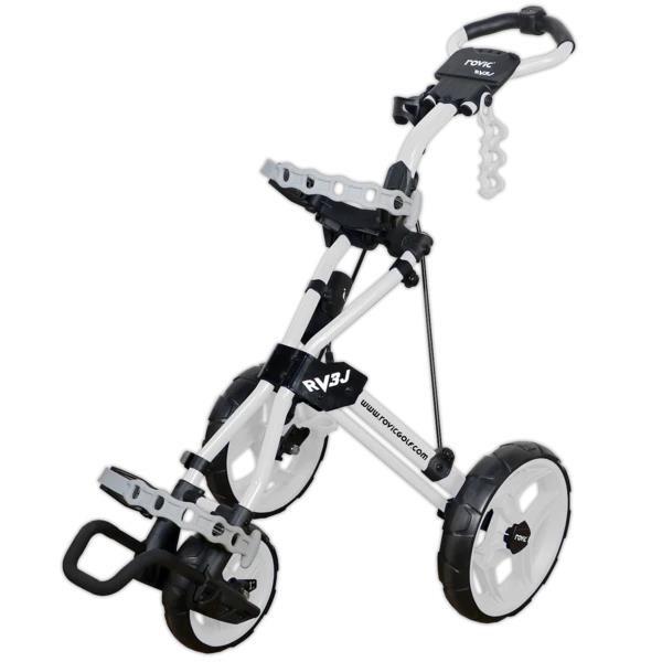 Rovic RV3J dětský vozík, 3-kolový, bílý