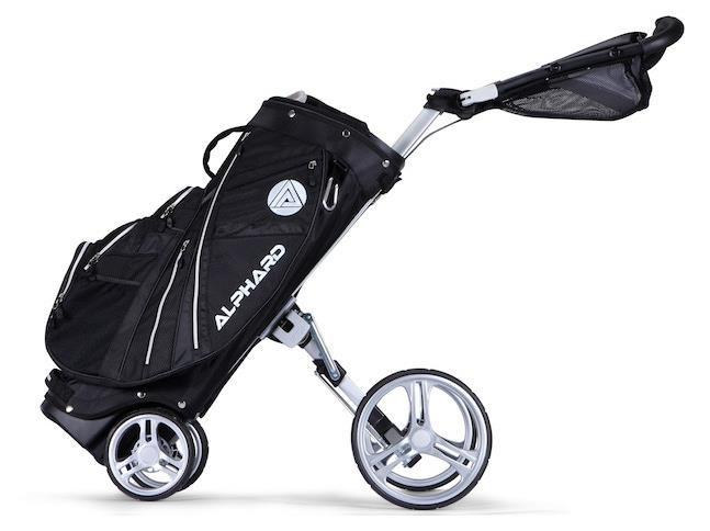 Alphard Duo Cart Deluxe bag s vozíkem, černý