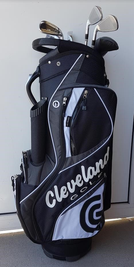 Cleveland CG16 Promo golfový set, ocel, pravý + cart bag