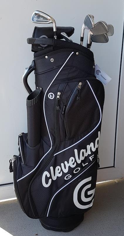 Cleveland CG16 Promo golfový set, ocel, RH + cart bag