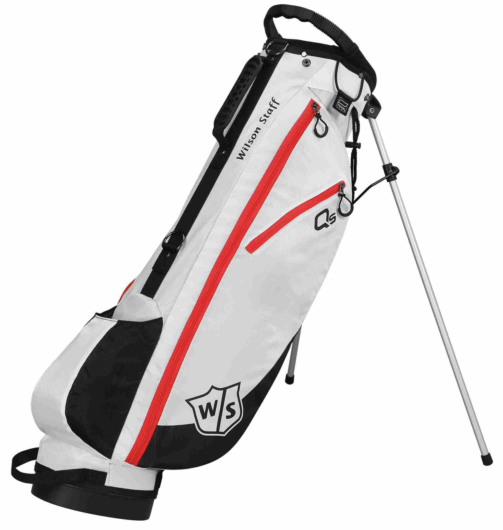 Wilson QS stand bag, bílý