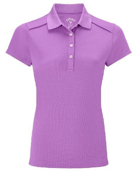 Callaway Opti-Dri dámské golfové polo, fialové dámské, XS
