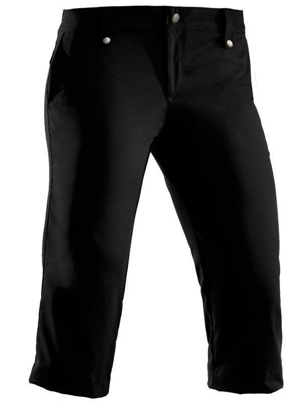 Under Armour Core Solid dámské 3/4 kalhoty, černé standardní, dámské, 12