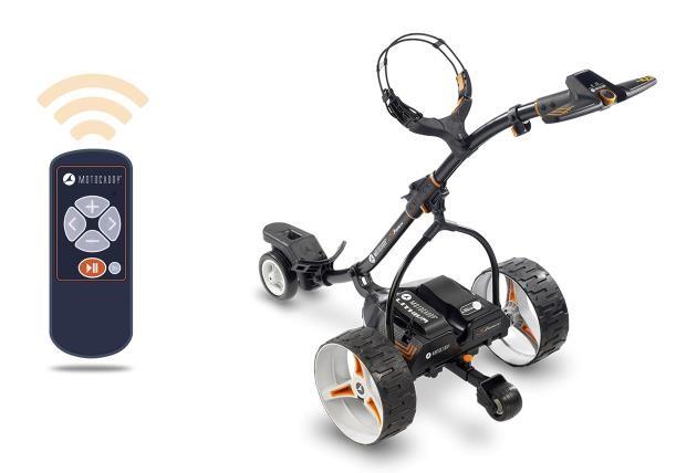 Motocaddy S7 Remote elektrický vozík s ovladačem černá, bez baterie
