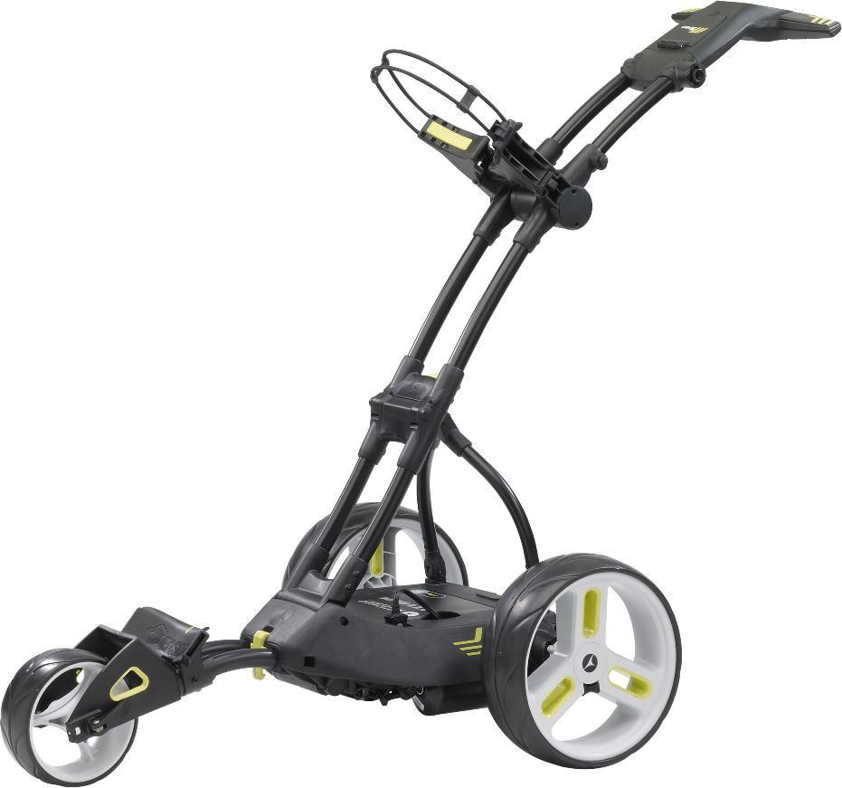 Motocaddy M3 PRO elektrický golfový vozík, černý černá, M-Series lithiová 18 jamek