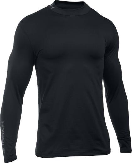 Under Armour ColdGear pánské thermo tričko, černé pánské, S