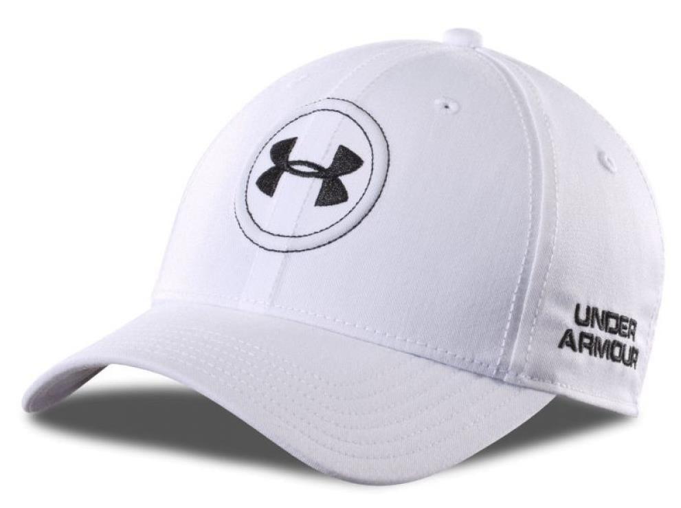 Under Armour Tour Official golfová kšiltovka, bílá pánské, kšiltovka, M/L, bílá