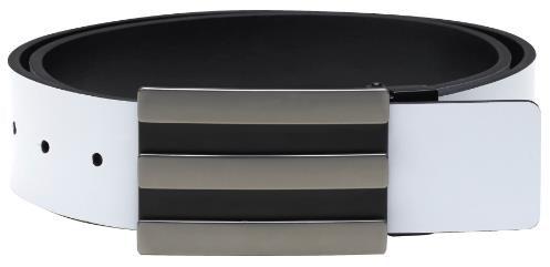 Adidas 3-Stripes Reversible pánský opasek, černo/šedý