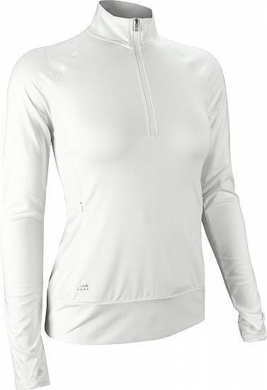 Adidas Rangewear 1/2 Zip dámská mikina, bílá dámské, XS