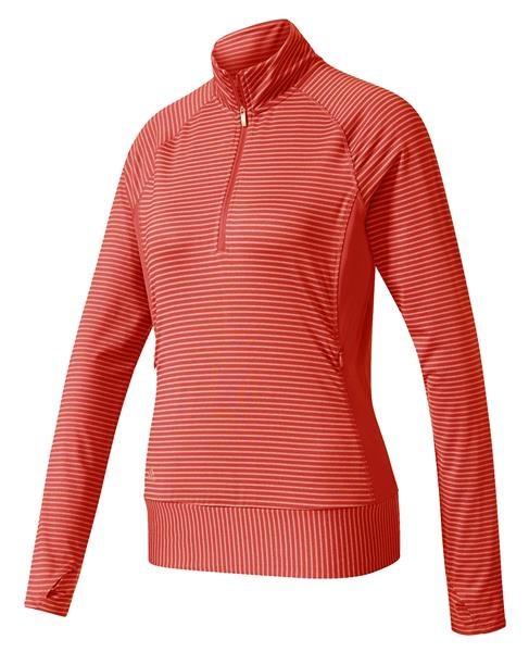 Adidas Rangewear 1/2 Zip dámská mikina, oranžová dámské, XS