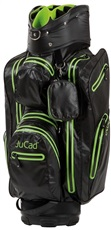 JuCad Aquastop cart bag, černo/zelený