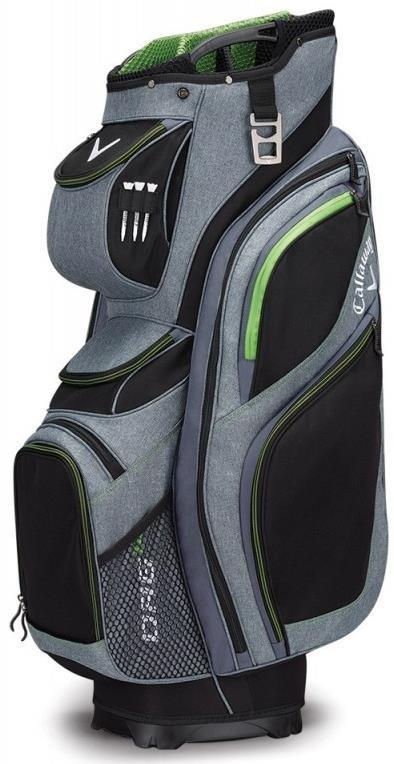 Callaway ORG 14 cart bag, černo/šedo/zelený