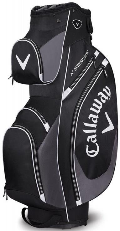 Callaway X Series cart bag, černo/šedo/bílý