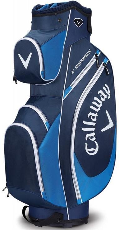 Callaway X Series cart bag, modro/bílý