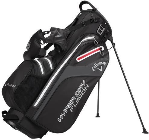Callaway Hyper Dry Fusion stand bag, černý
