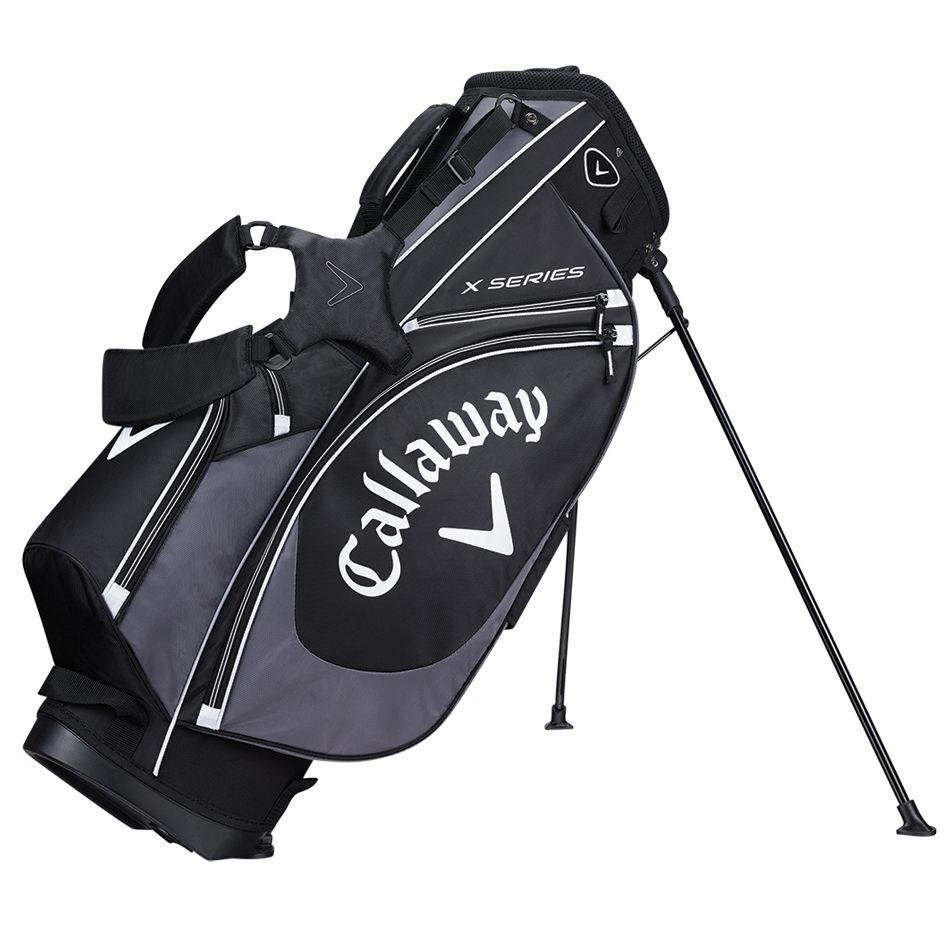 Callaway X Series stand bag, černo/šedý