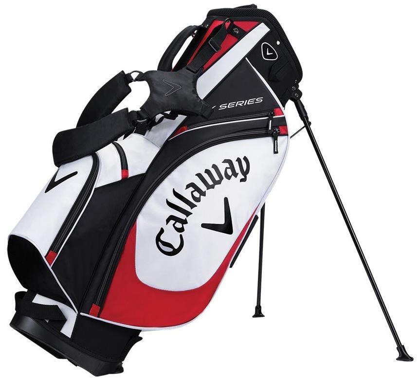 Callaway X Series stand bag, modro/bílý