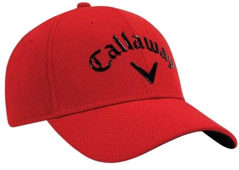Callaway Liquid Metal golfová kšiltovka, červená