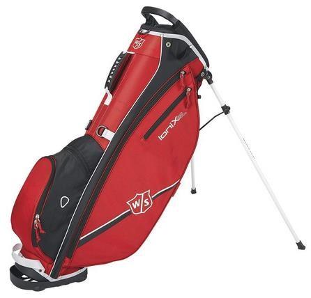 Wilson Staff Ionix SL stand bag, červený