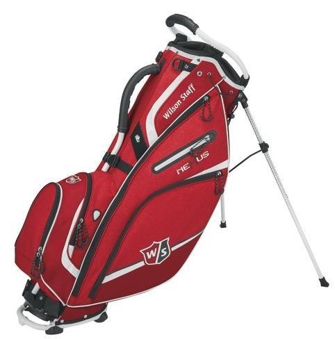 Wilson Staff Nexus III stand bag, červený