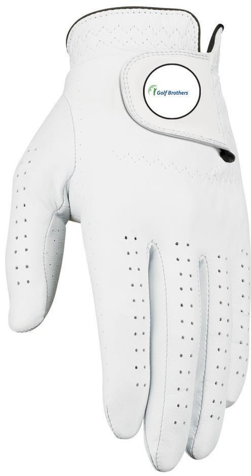 Callaway Dawn Patrol pánská rukavice + markovátko bílá, levá (pro praváky), M