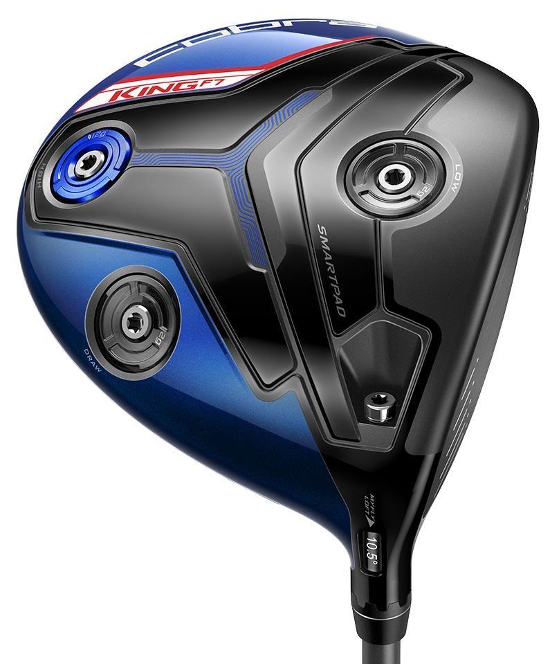 Cobra King F7 Blue pánský driver pánské, pravé, regular, 9°-12°, 460 ccm, Fujikura Pro