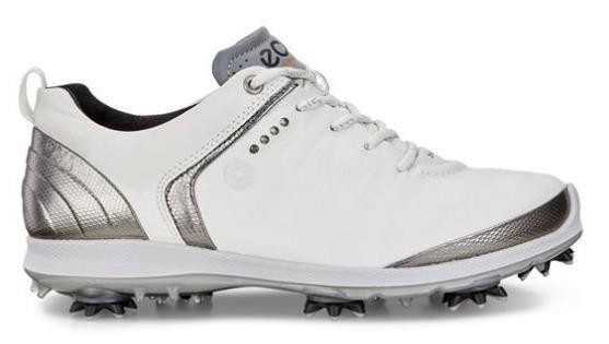 Ecco Golf Biom G 2 Gore-Tex dámské golfové boty, bílé bílá, standardní, 5
