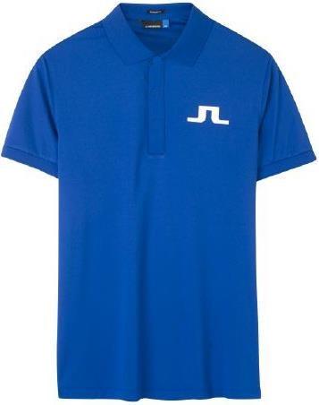 J.Lindeberg Big Bridge Reg TX Jersey pánské polo, modré pánské, M