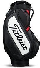 Titleist Midsize Staff cart bag, černo/bílý