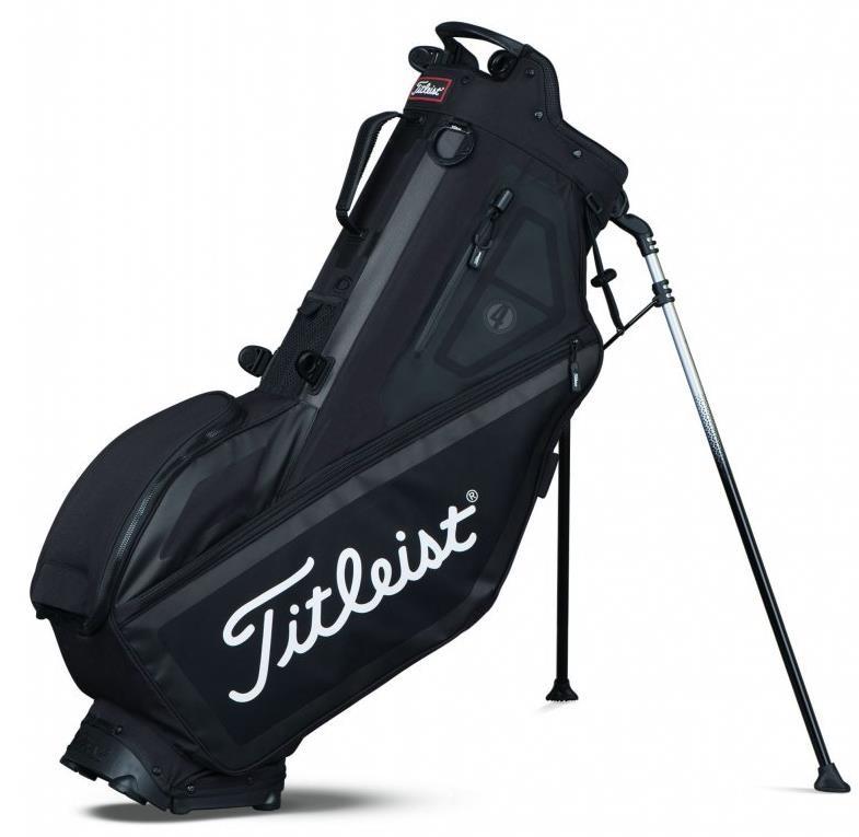 Titleist Players 4 stand bag, černý