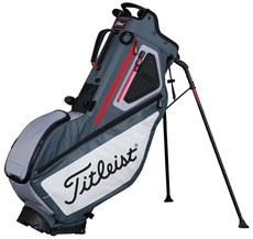 Titleist Players 5 stand bag, šedo/červený