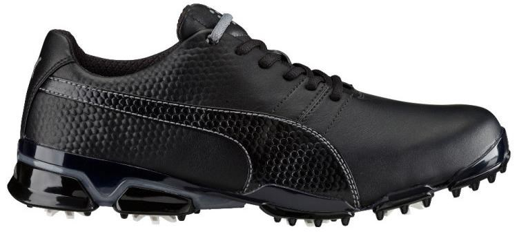 Puma Titantour Ignite pánské golfové boty, černo/stříbrné černá, standardní, 8